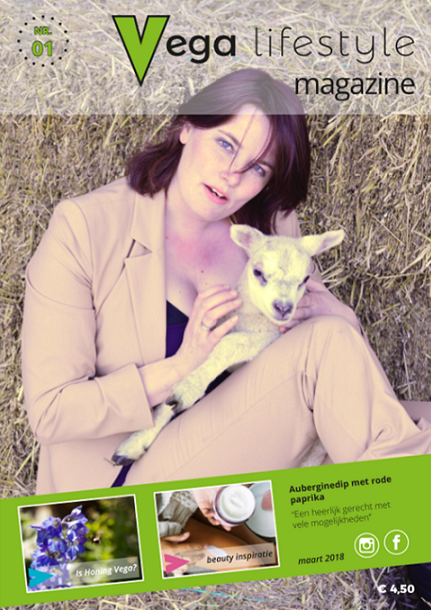Vegan Magazine - vega lifestyle magazine - vegan lifestyle magazine - vegan - veganisme - Yvonne Ufkes - vegan food - vegan beauty