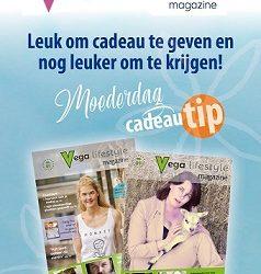 Vega Lifestyle Magazine - vegan magazine - vegan - vegan glossy - Yvonne Ufkes - Janneke van der Meulen - Moederdag - moederdag cadeau tip - momsday - vegan lifestyle magazine - veganfood - vegan cadeau -