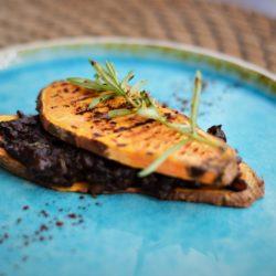 Zoete aardappel tostie - vegan - veganistisch - vegan recepten