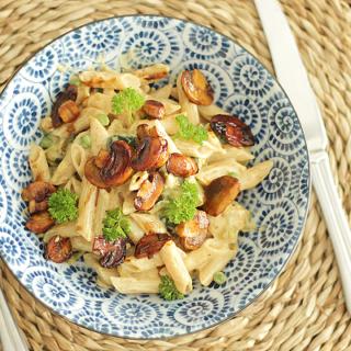 Romige-vegan-pasta Romige vegan-pasta