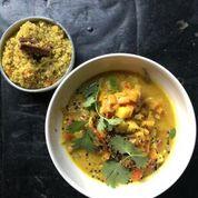 Vegan Curry van wintergroenten recept- vegan curry recept - vegan recept - vegan tijdschrift