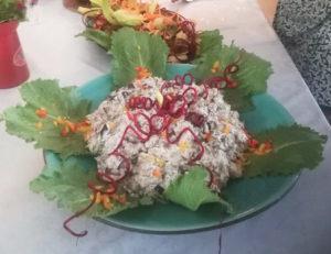 Vegan haring salade recept - vegan salade - vegan recepten - paasbrunch -
