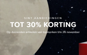 30 % korting - kleding - sieraden
