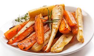 pastinaak - wortel reepjes - vegan recepten