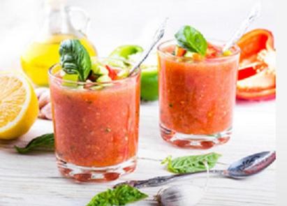 vegan Gazpacho - veganistische Gazpacho