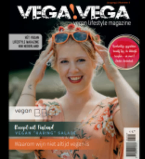 Vega Vega - vegan magazine - vegan tijdschrift - vegan lezen - vegen glossy - vegan recepten - vegan beauty