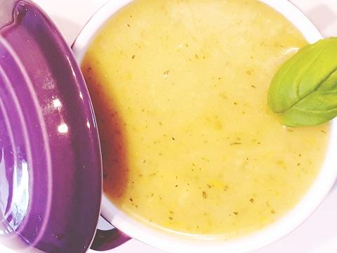 courgettesoep - vegan courgette soep - romige courgettesoep