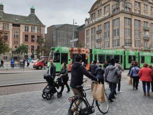 Amsterdam - tram - shoppen - hoofdstad - uiteten
