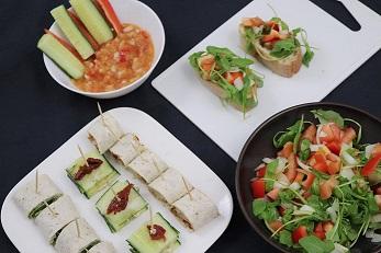 vegan tapas - tapas - hapjes - snacks