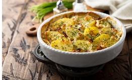 vegan aardappelgratin - vegan gerecht - vegan recept