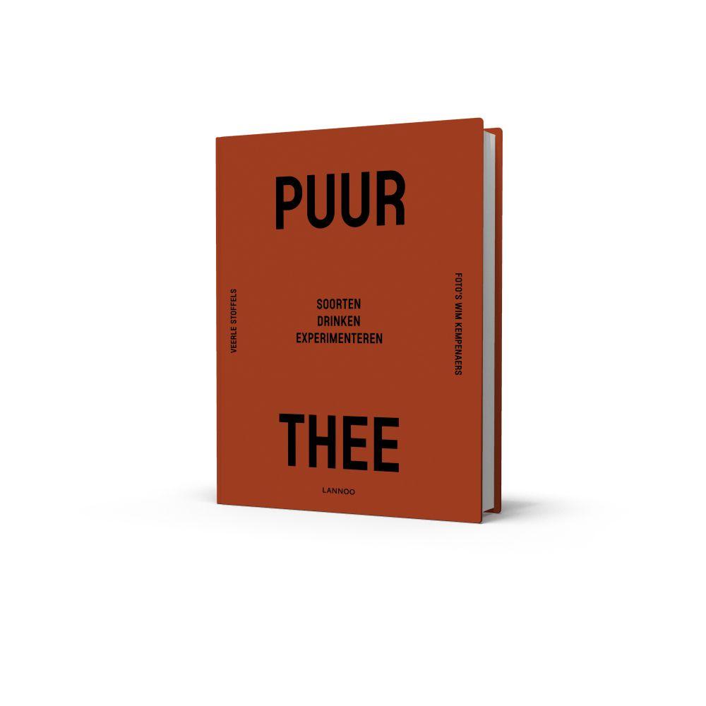 puur thee - boek - thee - welke soorten thee - thee recepten