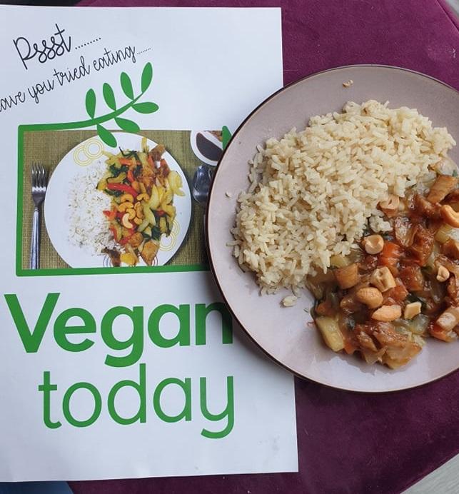 vegan maaltijdbox - vegan eten - vegan thuisbezorgd