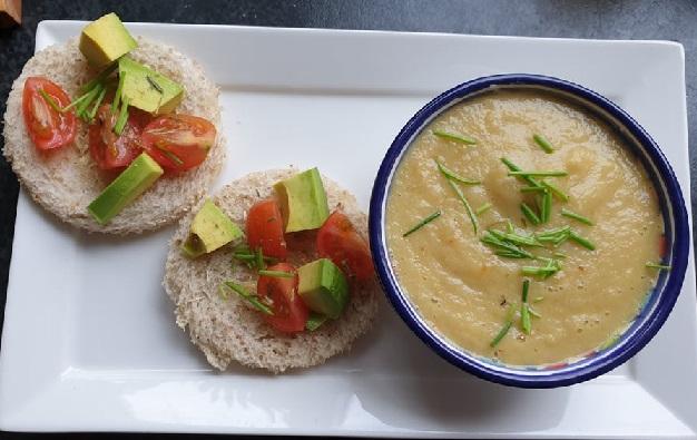 pastinaaksoep - glutenvrij - pastinaak - vegan soep