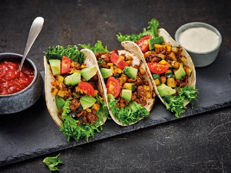 vegan taco's - veganistische taco's