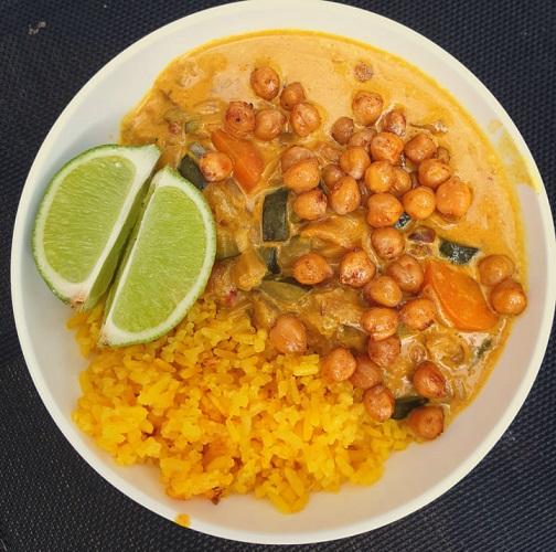 vegan curry - vegan curry madras - veganistische recept