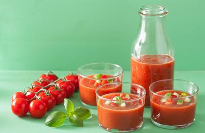 Gazpacho - vegan Gazpacho - koude soep - vegan soep