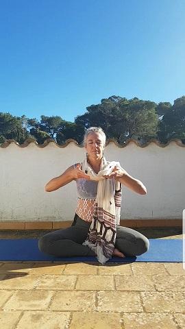 retraite - vegan retraite - yoga - online yoga - Aleid Warmelink