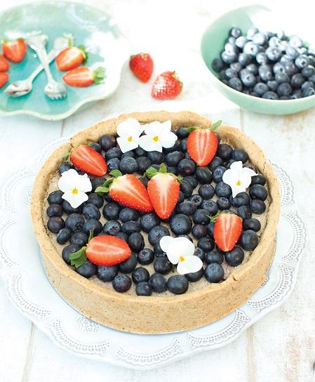 bloemkoolvlaai - vegan vlaai - veganistisch taart