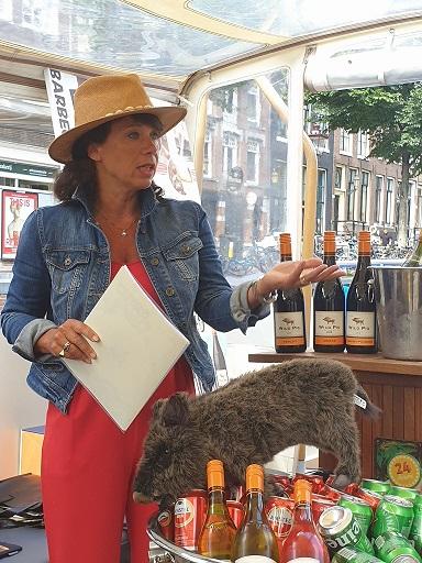 colette klautz - wild pig wijn
