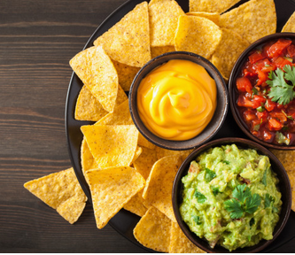 chips met vegan dips