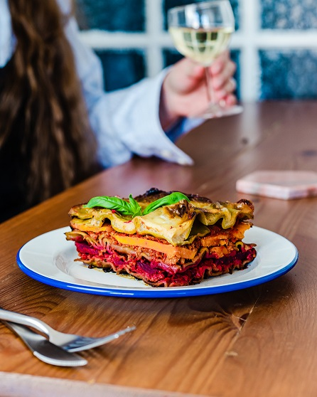 vegan lasagne - veganistische lasagne