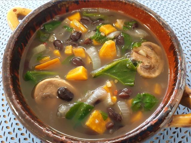 vegan maaltijdsoep - veganistische maaltijd soep - vegan maaltijdbox