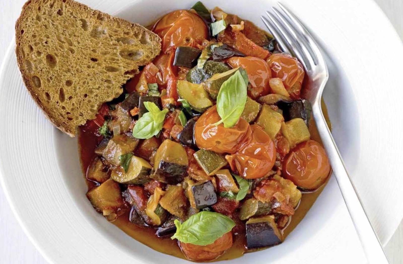 vegan ratatouille - vegan recept - veganistische resepten