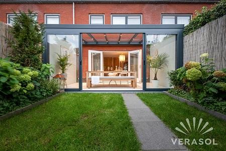 veranda - terrasoverkapping - tuinterras