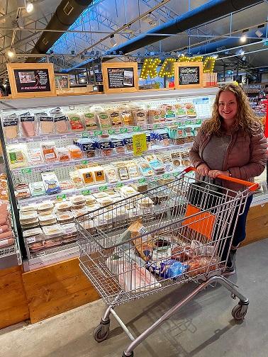 vegan in de supermarkt - vegan boodschappen doen - stephanie aukes