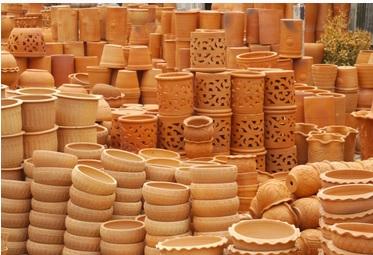 terracotta potten - bloempotten