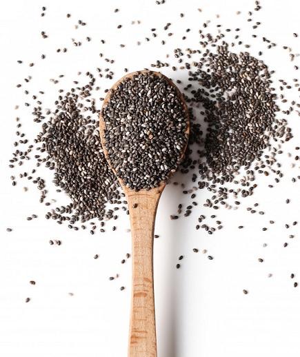 chiazaad rijk aan vezels en een bron van omega 3 vetzuren en bevat nog vele andere mineralen