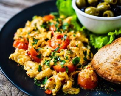 Scrambled eggs hoe maak je het? vegan  Scrambled eggs