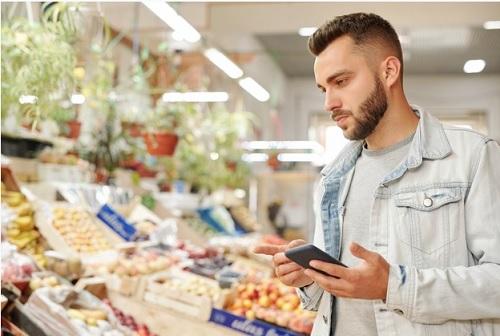 vegan in de supermarkt