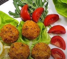 Vegan gerecht Turkse delights