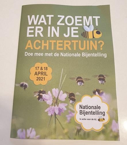 De Nationale Bijentelling tel jij ook mee?