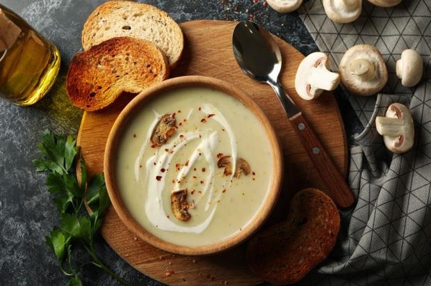 Vegan champignonsoep de lekkerste maak je gewoon zelf