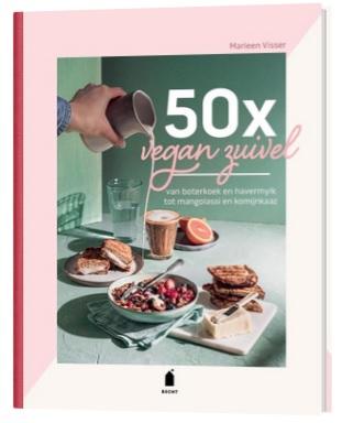 50 lekkere recepten met vegan zuivel. Zo ook dit lekker toetje