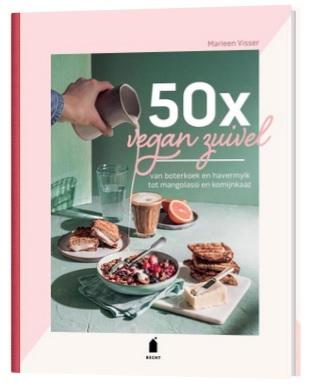 vegan zuivel boek met allemaal tips om zelfs vegan melk te maken