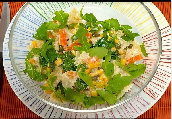 vegan pasta salade