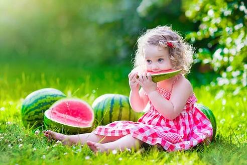 Baby's eerste fruithapjes