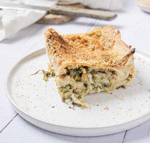 vegan lasagne Bianca een heerlijk recept