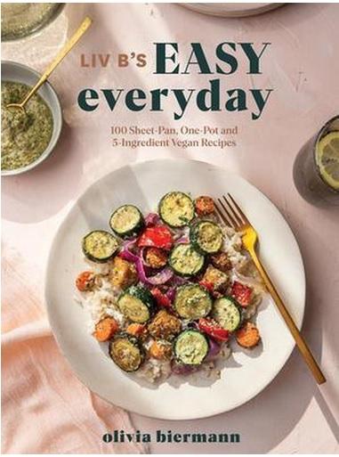 vegan kookboek LIV B's Easy Everyday