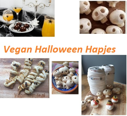 vegan halloween hapjes - vegan halloween - halloween hapjes - halloween snacks - veganistische halloween hapjes
